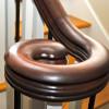 Beaver Home Builders, Inc. | Kitchen Banister Detail