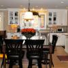 Beaver Home Builders, Inc. | Kitchen Renovation | Double Oven, Center Island, Built-in Corner Dining, 6 Burner Cooktop, Granite, Hardwood