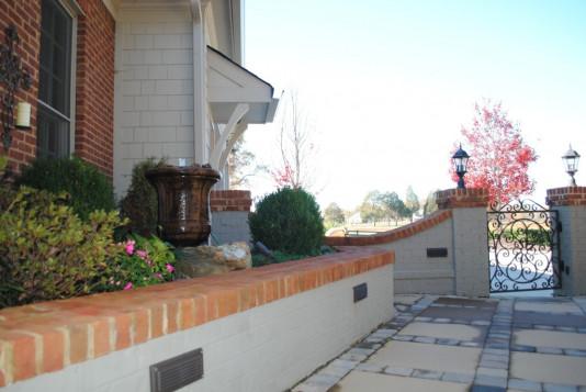 Beaver Home Builders, Inc. | Custom Patio Pavers and Gate