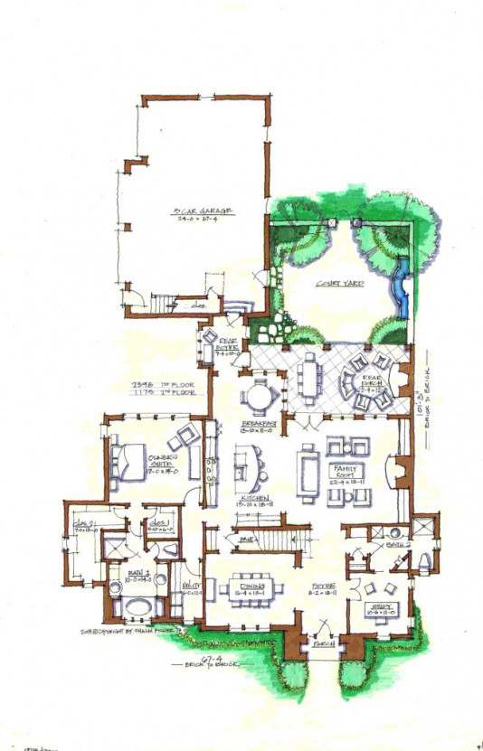 Beaver Home Builders, Inc. | Shefield | First Floor