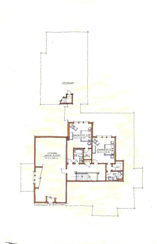 Beaver Home Builders, Inc. | Shefield | Second Floor