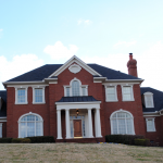 Stately Souther Brick Home Front View
