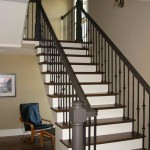 Beaver Home Builders, Inc. | Staircase and Office Area