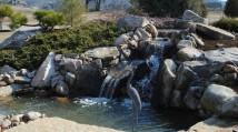 Patio Pond Installation