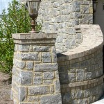 Beaver Home Builders, Inc. | Stone Column and Wall
