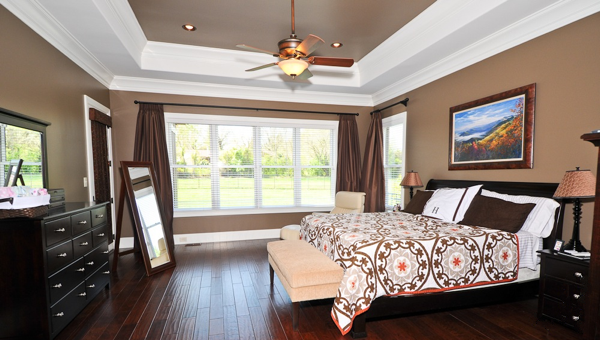Beaver Home Builders, Inc. | Beautiful Dream Bedroom